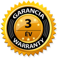 Kiegészítő garancia + 3év G-OLD Atlantic F125D és Solius fűtőpanelhez