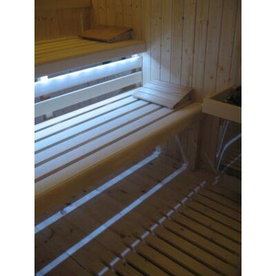 Szaunatartozék Szauna LED világítás a padélekre H