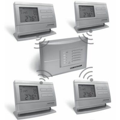 Termosztát digitális programozható rádiófrekvenciás Q8 RF